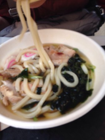San Bruno, CA: Good udon for airport