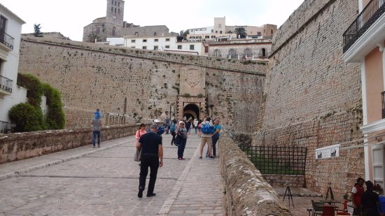 Ibiza Stadt und Burg: Castle