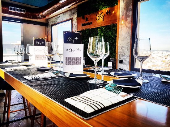 Sky44 madrid malasa a restaurant reviews phone for Ibis paseo del prado