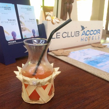 Novotel Bali Benoa : Welcome Drink