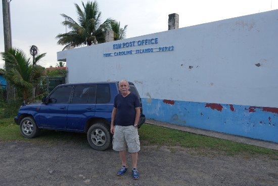 Truk Stop Hotel: Postkontoret på Chuuk.