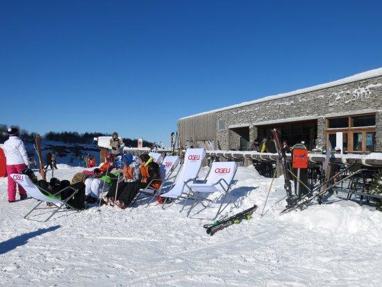 Gourette, Frankrike: Terrasse ski au pieds