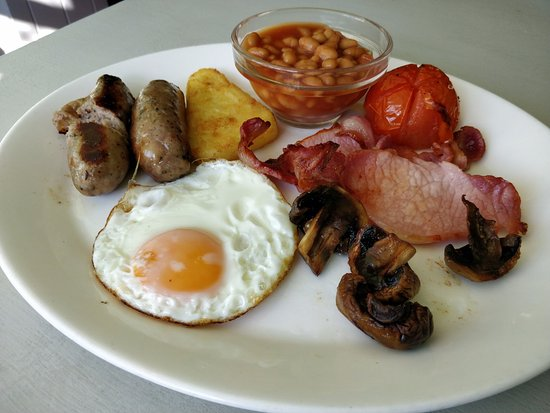 Guyhirn, UK: Breakfast