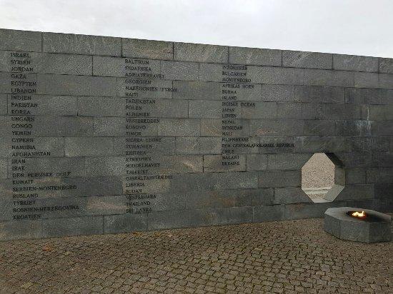 Monument For Denmark's International Effort Since 1948.