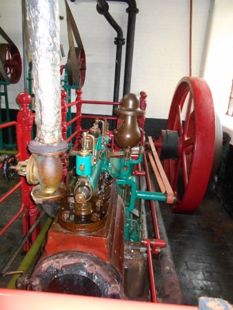 Hook Norton, UK: The Victorian steam engine is still in working order