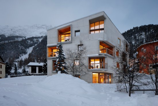 Alpine Lodging: Chesa Plattner Winter