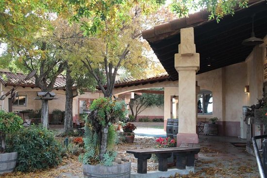 Castoro Cellars: Beautiful Patio