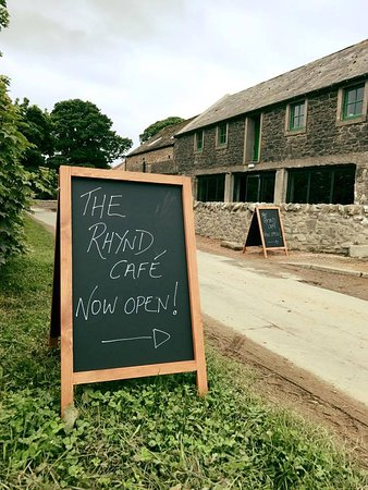 Fife, UK: The Rhynd Cafe is Open!
