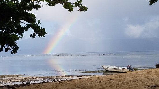 Qamea Island, Φίτζι: Occasional rain just added to the beauty
