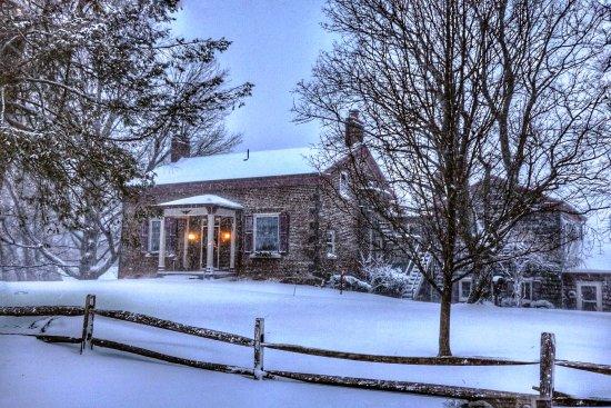 Sodus, Νέα Υόρκη: Winter on Maxwell Creek - Maxwell Creek Inn Bed & Breakfast