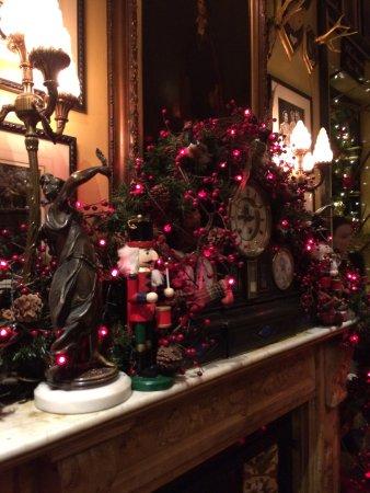rules restaurant festive christmas decorations