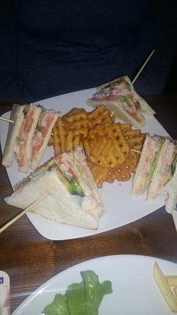 Grumolo Delle Abbadesse, Italie : club sandwich