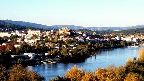 Valenca, Portugal: Vistas desde la Fortaleza do Minho