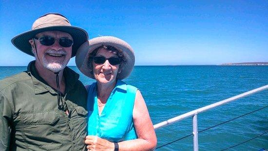 เดนแฮม, ออสเตรเลีย: Wife and I.