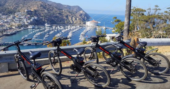 Catalina Electric Bike Tours