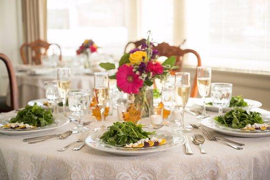 Middlebury Inn: Wedding Table