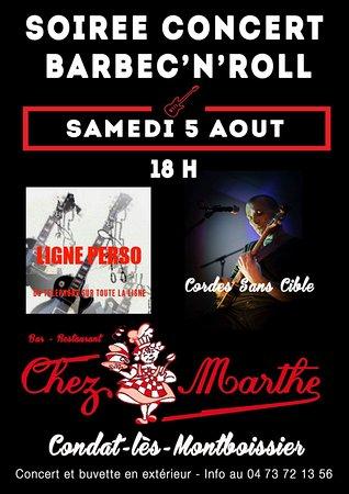Restaurant Chez La Marthe Condat