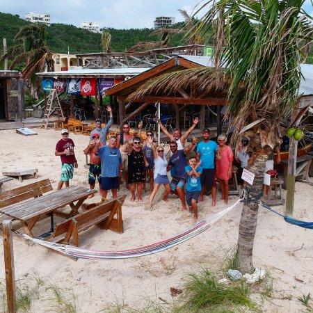 bahía de Simpson, St. Maarten: Elvis' Beach Bar
