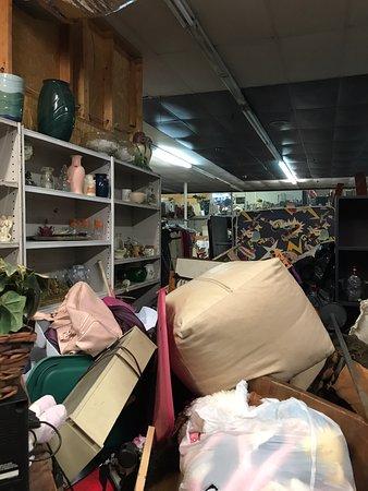 Harriman, TN: view toward back of store