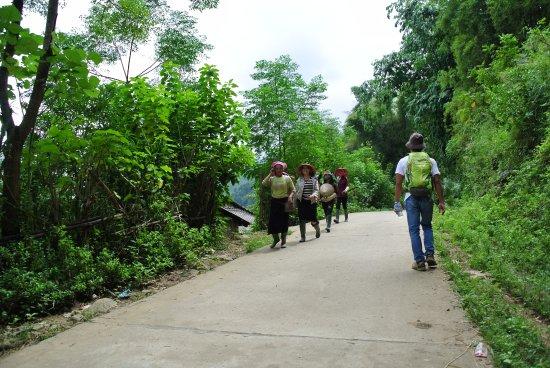 Yen Bai Province, Vietnam: Wanderung