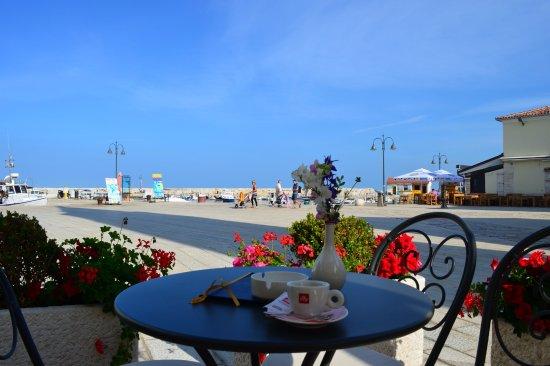 Fazana, โครเอเชีย: Hotel terrace