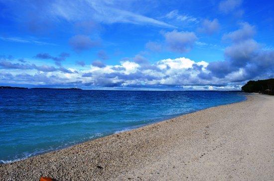 Fazana, โครเอเชีย: Beach near hotel