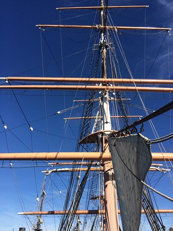 Maritime Museum of San Diego : Star of India rigging