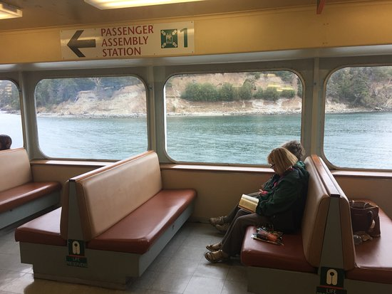 Washington State Ferries: Comfortable Seats, Nice Views