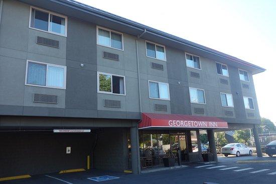 Georgetown Inn : Entrée de l'hotel