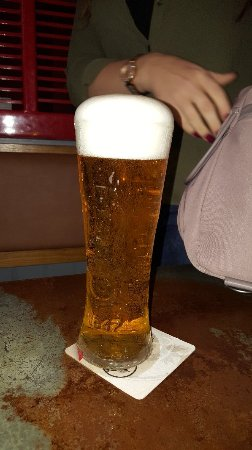 Fed up with the lodge alvaston always get a massive head on your pint, don't get it at any  othe