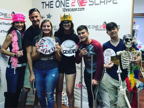 The One  Escape Room Davie Fl
