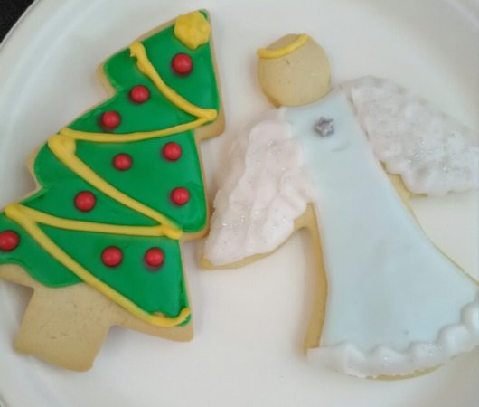 Shepherdstown, WV: Our house-made Christmas cookies are a seasonal favorite.