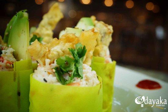 """Odayaka Sushi Bar: """"Burritos Odayaka"""" El clásico sabor de nuestros burritos ahora con jaiba."""