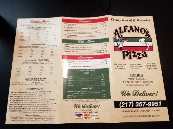 Carthage, IL: Alfano's Pizzeria