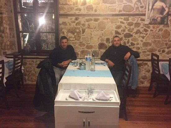 Yemenli Restaurant: akşam yemeği