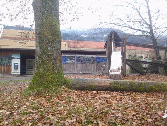 Untergriesbach, Tyskland: Haus Am Strom - Restauracja ( teren w poblizu )