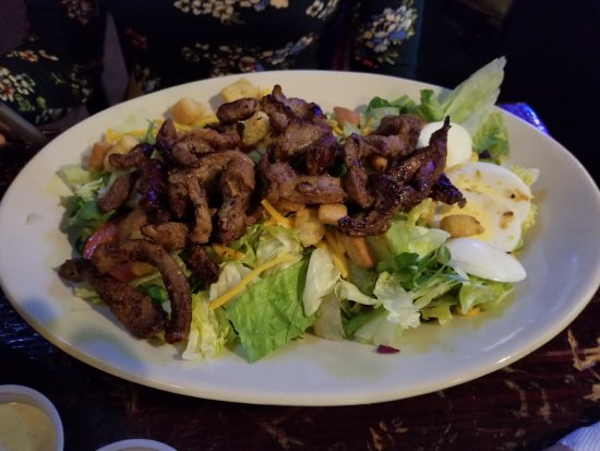 Sherman, TX: Steakhouse salad