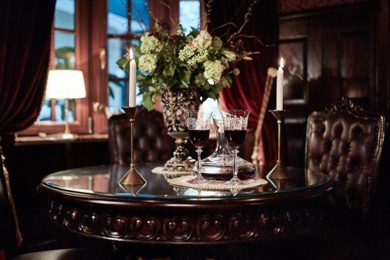 Hotel Villa Achenbach: Lounge