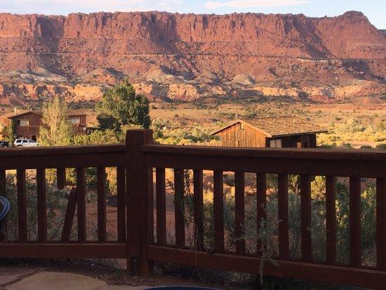 Torrey, UT: Views from the patio
