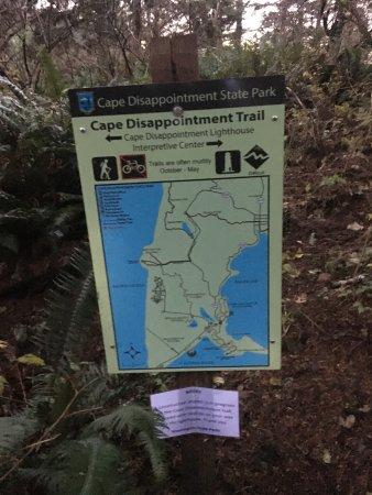 Ilwaco, WA: Trail Markers