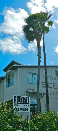 Carpinteria, Californie : Palm Loft Gallery entrance