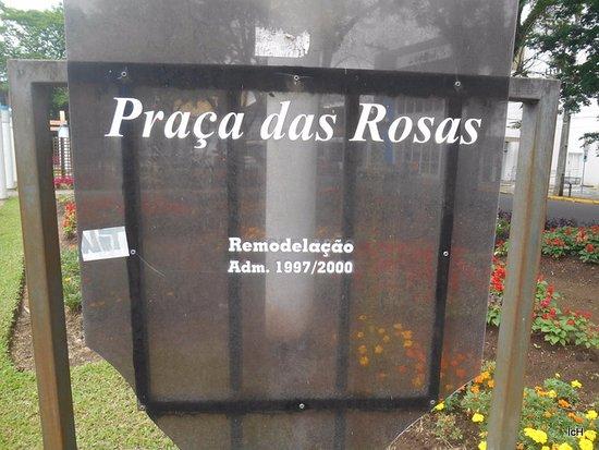 Sapiranga: Praça das Rosas