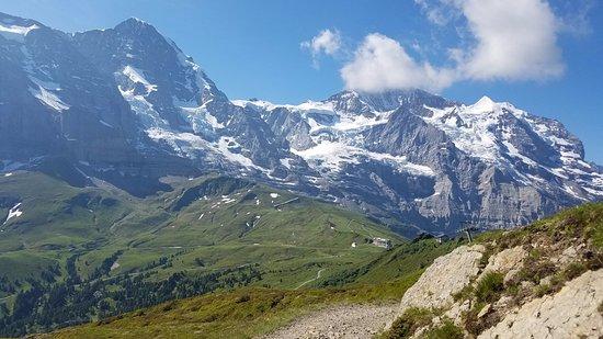 Jungfrau Region, Suiza: On the trail to Kleine Scheidegg