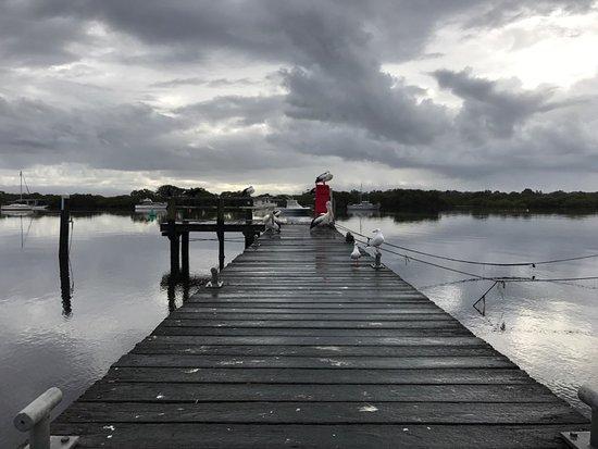Tea Gardens, Australia: Cloudy Wet Day