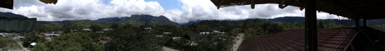 Bio Hostal Mindo Cloud Forest: Panorama on the Terrasse on the roof