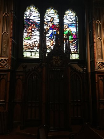 Montreal, Canadá: stained glass