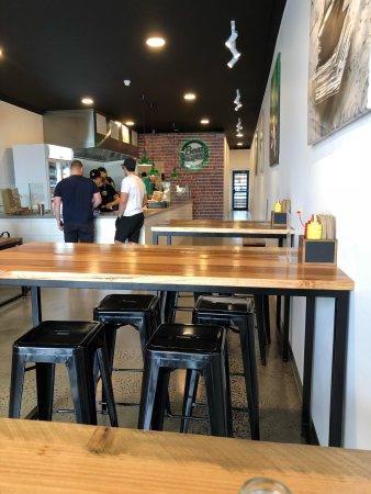 Essendon, Australien: Burgers and beats!