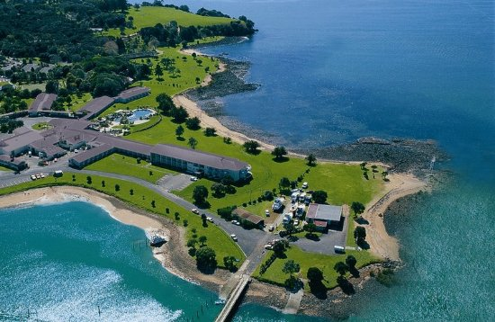 Waitangi, Nowa Zelandia: Aerial View