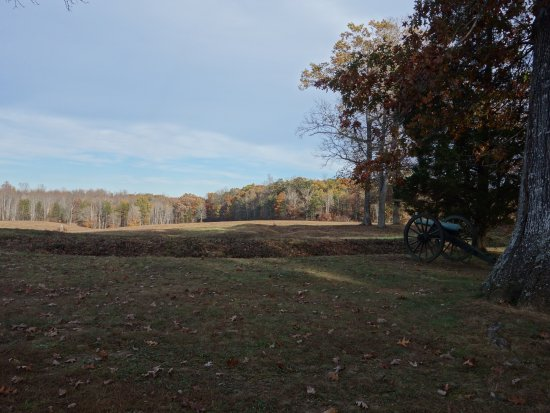 Spotsylvania, VA: View from the mule shoe on the battlefield