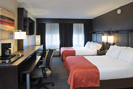 Holiday Inn Express & Suites Boston - Cambridge: Double Bed Guest Room